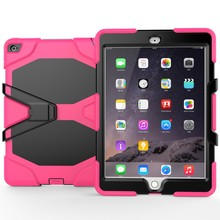 Hot Selling Heavy Duty Shockproof Pc Tablet Case For iPad Air2 Back Cover Case