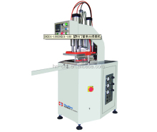 High frequency and easy operation single head welding machine for upvc window making