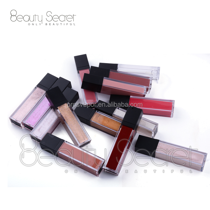 New Trending Sparkle Lip Gloss with Fruit Flavor Private Label Lip Gloss