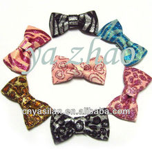 "3"" glitter hair bows without clip, 15color in stock, hot selling"
