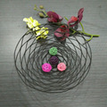 Metal fruit tray metal decoration basket