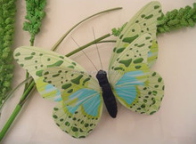Wholesale different sizes 5cm to 120cm paper butterfly hanging decoration