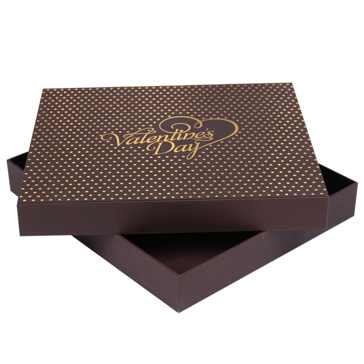 Factory custom eco valentine's birthday cardboard boxes gift
