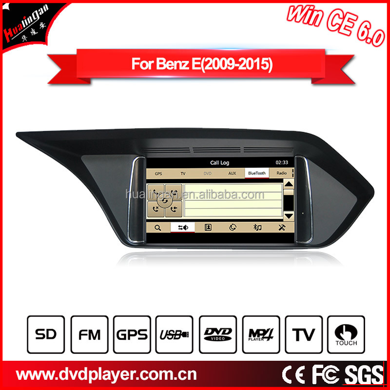 HLA car dvd player for 2016 Mercedes-Benz E car multimedia gps navigation radio bluetooth tv SD/USB Reversing tracks