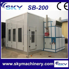China supplier SB-200 Spray Booth/automobile paint booth/infrared heater for car paint