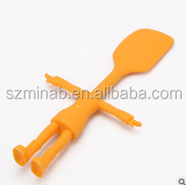 Chinese Suppliers Food Grade Cute Mini Spatula Silicone For Kids Cake Tools