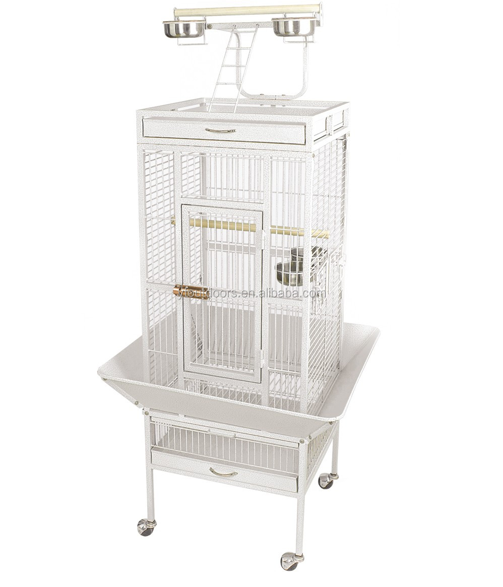 Wholesale large african grey parrot cage stand
