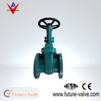 ANSI flange end gate valve 125LB