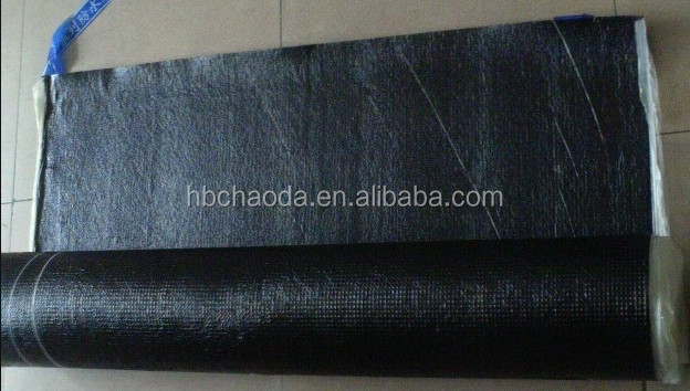 Aluminum building material SBS modified asphalt waterproof membrane