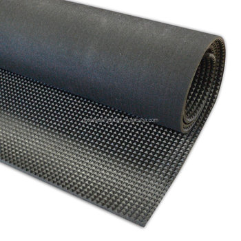 Great Wall Elongation 450% Black Pyramid Rubber Sheet Anti slip rubber Mat 3.4mm x 0.6mx 5.5m length