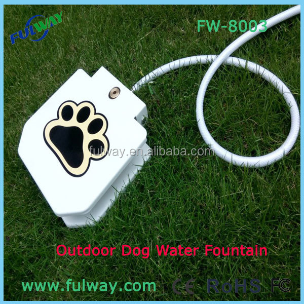 Magic Drinking Spring Pedal Pet Water Fountain Feeder