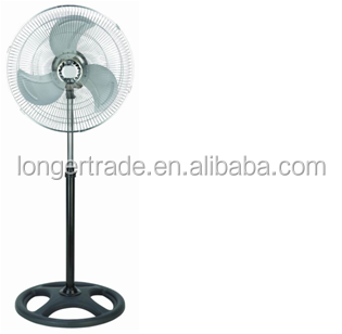 China hot sale 16 inch 220V 65W electric stand fan with simple model