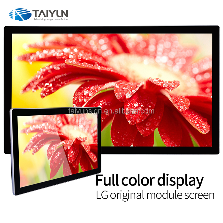 Full HD Parete Colore 42 Pollice Network Digital Signage LCD Display Advertising