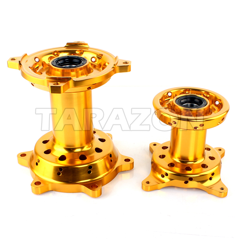 CNC maching aluminum motorcycle wheel hub for dirt bike