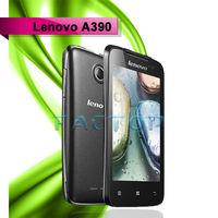 android 4.0 cheap android phone lenovo a390 dual sim card dual standby with CE cert