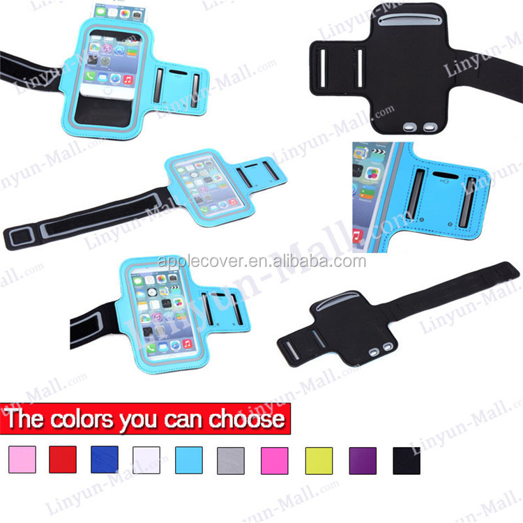 Hot selling Neoprene material Sport Running Armband Strap For iphone 5, for apple iphone 5 Armband with pouch