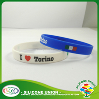 High quality for children's cheap charm custom silicone wristbands rubber bracelet