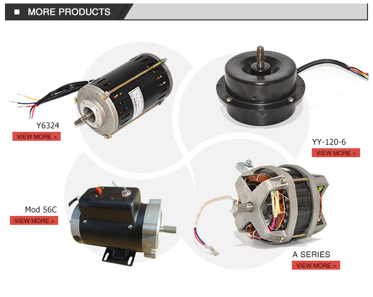 120v small ac electric fan motors