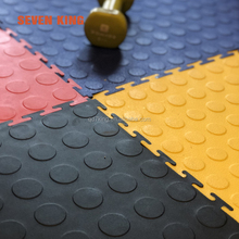 Eco-friendly garage plastic floor mat/pvc interlocking tiles