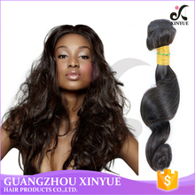 Brazilian natural black star micro braid weft hair Weave loose Wave Virgin Human Hair Extensions for hot selling