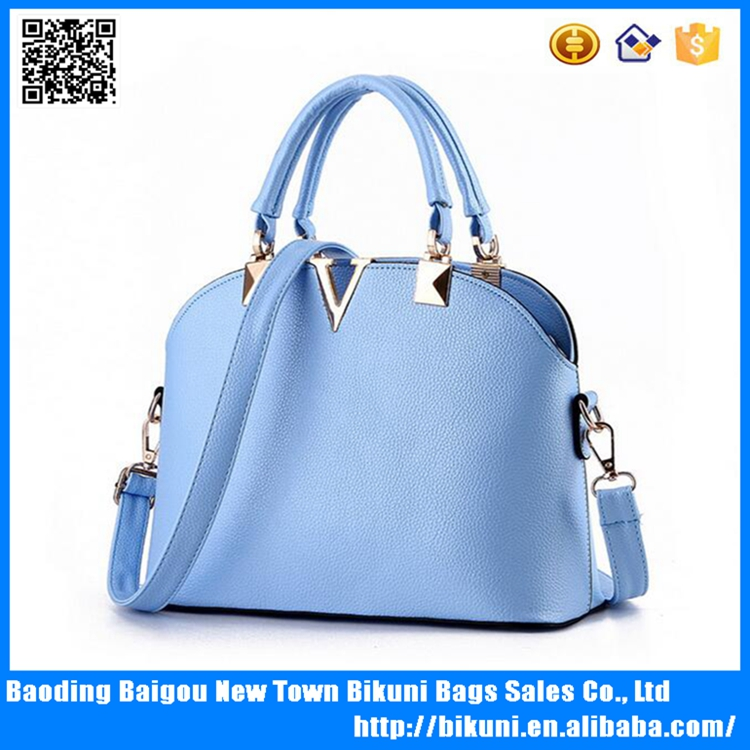 2016 wholesale cheap handbags fashion style pu leather lady handbags