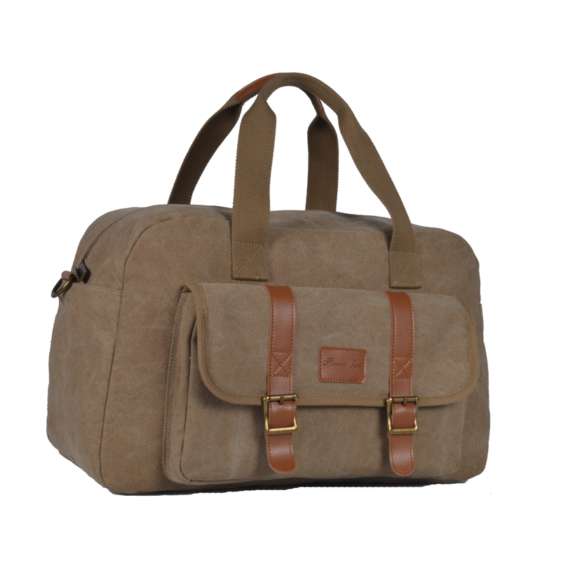 Canvas Duffel Bag Oversized Travel Tote Luggage Bag