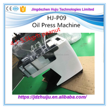 Low Price High Output mini oil extracting machine/small cold oil press/Oil Making HJ-P09