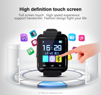 Bluetooth Smartwatch U8 U Smart Watch for iPhone 6/puls/5S Samsung S4/Note 3 HTC Android Phone Smartphones Android Wear