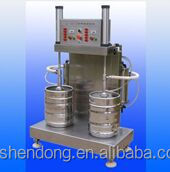 Shendong 2 head beer keg filling machine for brewery