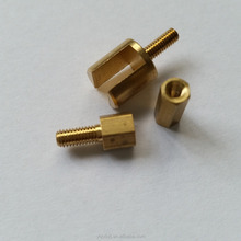 machining precision brass spacers,brass hexagonal spacer