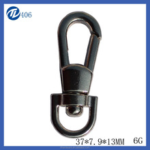 Fashion nice quality D ring keychain snap hook