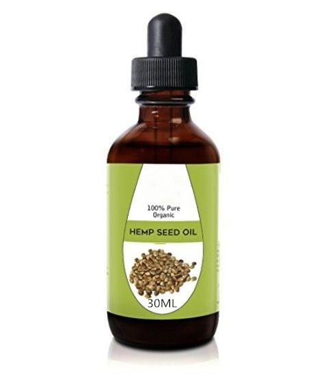 Hemp Oil Hemp Seed Drops 100% Pure Organic