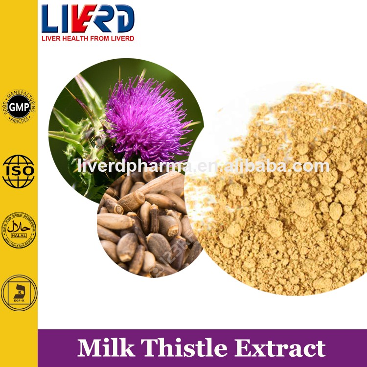 25:1 Plant & Herbal Milk Thistle Powder Extract