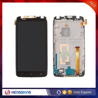 Mobile phone spare parts LCD touch screen assembly for htc one x