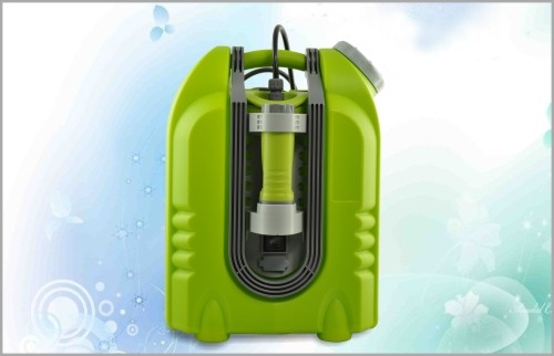 Car washing machine, handhold outdoor shower equipment with pump jet sprayer - 2200mAh rechargeable battery - 20L water tank