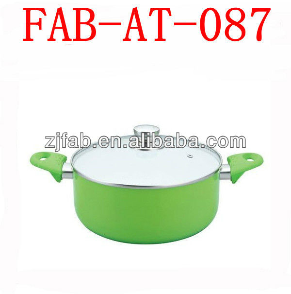 Bakelite Handle 3003 Aluminum Cooking Pots Clay