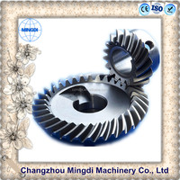 the tractor truck steel material bevel gear Helical Gear Wheel /Bevel Spiral Parts Transmission Gear