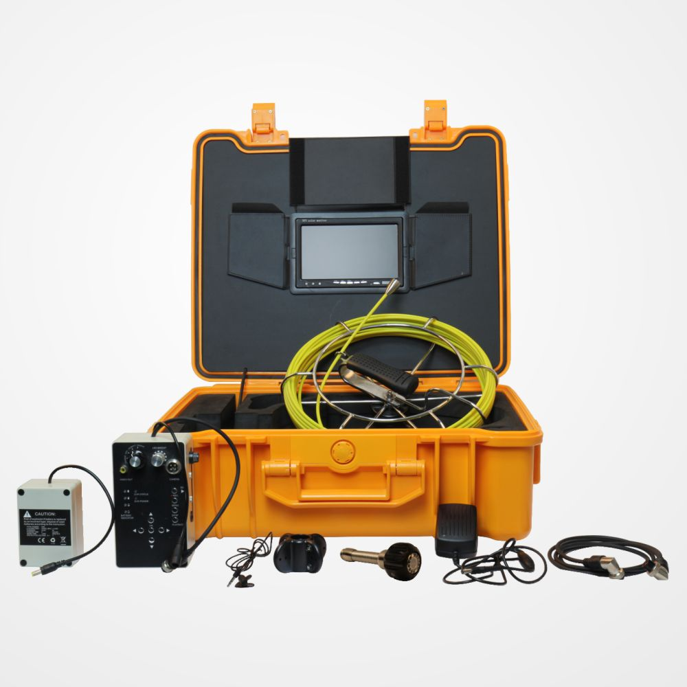 Underground Borehole Pipe Inspection Camera with 23mm Camera Head