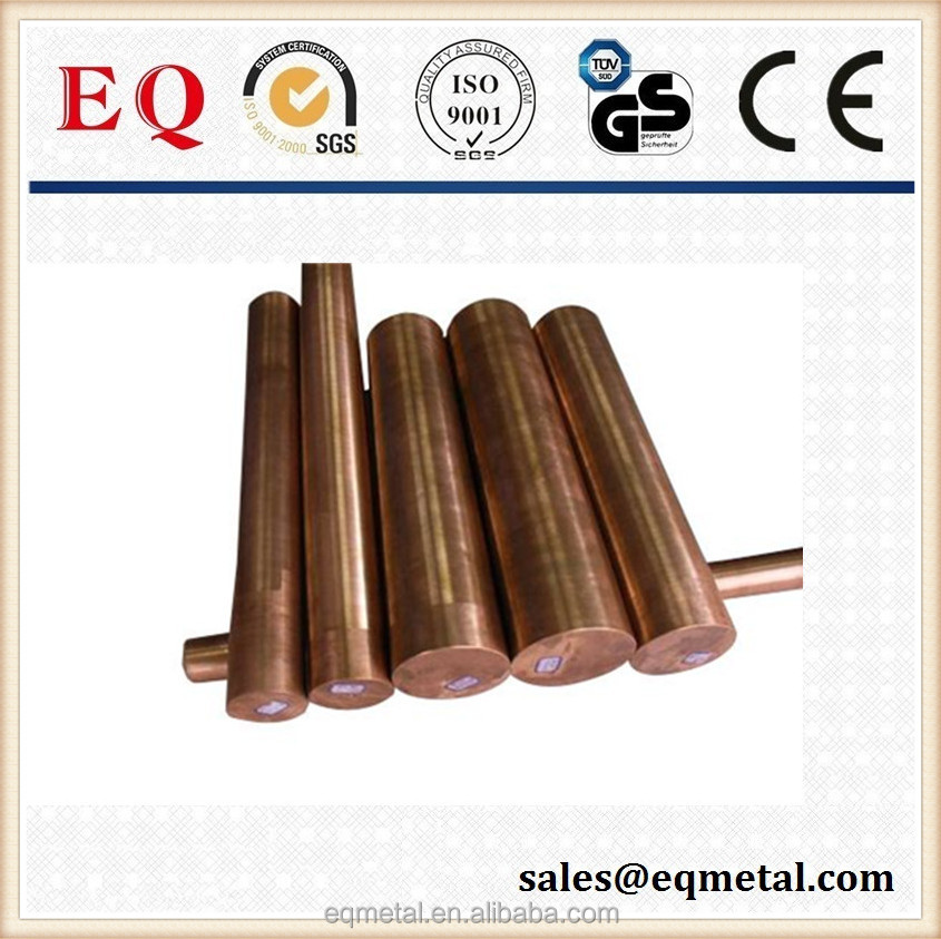 Manufactring copper rods round copper bar