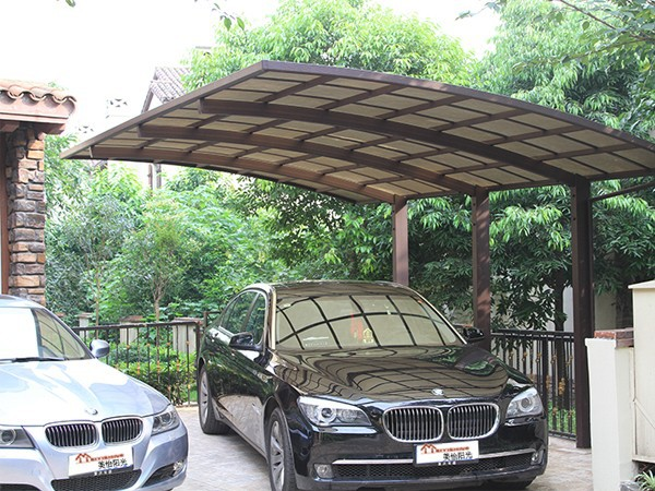 Professional Carport Manufacturer, High Grade Double Elegant Aluminium/Solid PC Carport/Car Shed