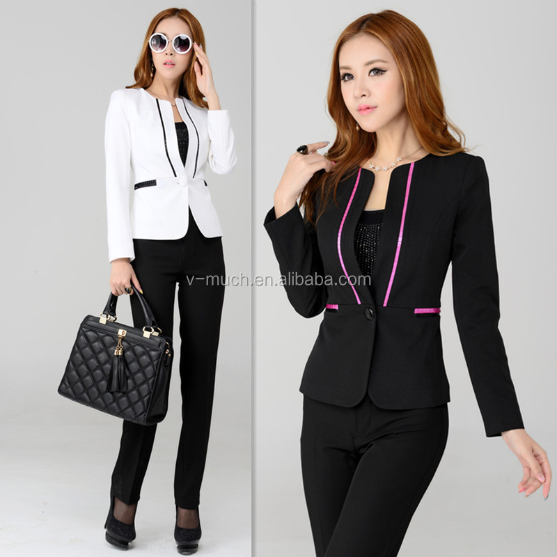 2014 Latest Design Professional Lady Suits/office suits for women /ladies church suits
