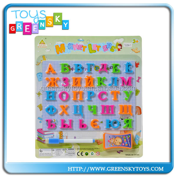 Children magnetic drawing board letter boards