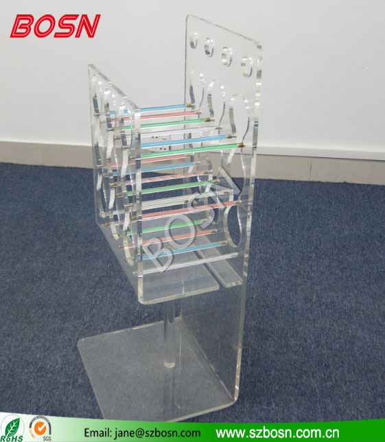 Professional design factory directly sell Acrylic Wine Display/Beer Holder