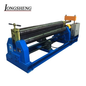 China made W11-6X1500 3 roller electric rolling machine metal roller machine cone machinery
