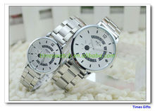 kede watch luminous pointer fashion steel strip commercial lovers table