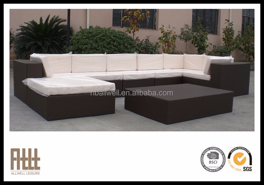 New design outdoor furnituer all weather wicker resin furniture AWRF5140B,Wicker Resin Furniture