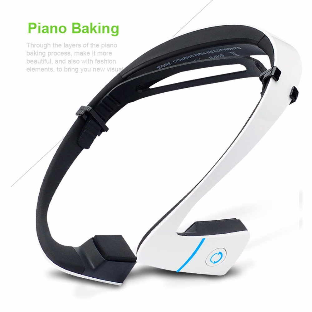 New Bone Conduction Headphone Bluetooth 4.1 Active Noise Cancelling Headphones