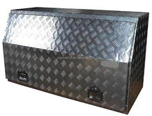 WATERPROOF ALUMINUM TRUCK TOOL BOX WITH GAS STRUTS -PM12608