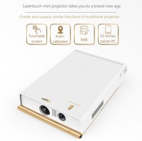 Multimedia mobile phone Projector with Andriod system 4.4 Pocket Pico interactive projector