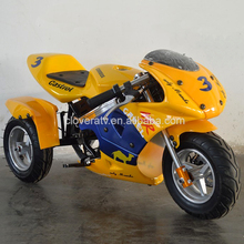 Chinese Professional Electric Motorcyle 350W Pocket Bike for Sale
